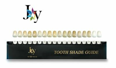 Joy Tooth Shade Guide 16 Shades for Illustration/Before & After Comparison #JFSG