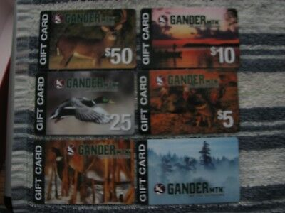 Collectible Cabela's Bass Pro & Gander Mountain Gift Cards
