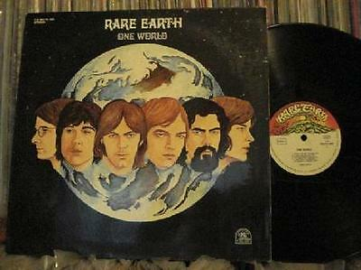 Rare Earth One World~Vg++/Vg++ Orig 1971 German Lp~Motown~White Soul Pop Rock