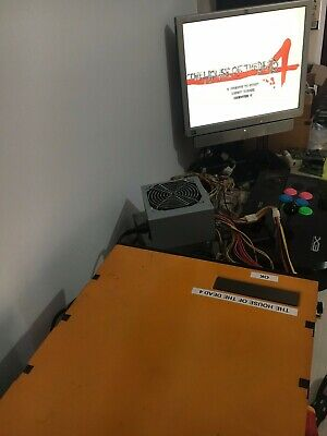 Sega Lindbergh Yellow Motherboard + The House of Dead 4. Arcade/Jamma/JVS THoD 4