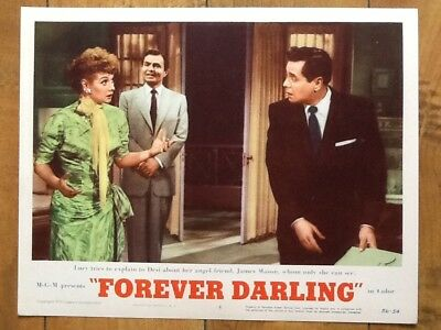 "Lucille Ball & Desi Arnaz 1956 MGM ""Forever Darling"" James Mason  ""I Love Lucy"""