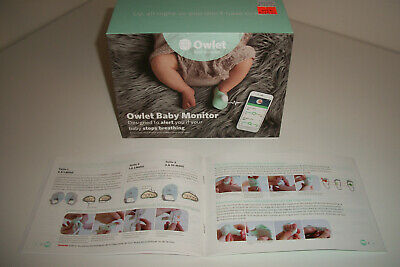 Owlet Baby Care - Smart Sock & Baby Monitor with Accessories