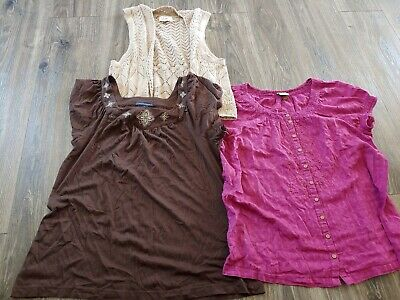 Womens Lot Of Blouses Tops Shirts Size Large Sonoma and Tommy Hilfiger