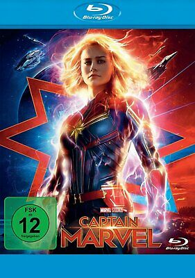 Captain Marvel - (Brie Larson) # BLU-RAY-NEU