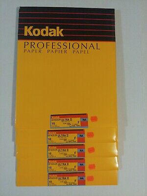 Kodak Ektacolor Ultra II F RC 11x14 10ct NOS Sealed packs Bulk Pricing!