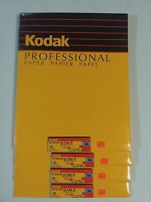 Kodak Ektacolor Ultra II N RC type2839 11x14 10ct NOS Sealed packs Bulk pricing!