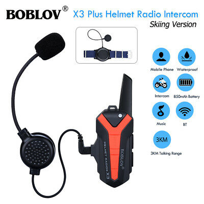 WIRELESS WALKIE TALKIE Bluetooth Headset +PTT For Motorola