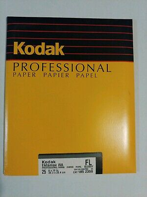 Kodak Ektamax RC FL Glossy 8x10 25ct NOS Sealed pack