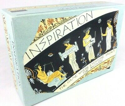 Inspiration The Trivia Game 1994 Oxford Games - Display Open Box - Never Played