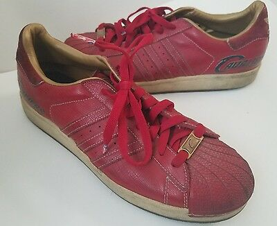 2006 ADIDAS SUPERSTAR 1 NBA CLEVELAND CAVALIERS CAVS Leather