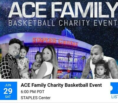 Ace Family /Chris Brown Basketball Charity Event