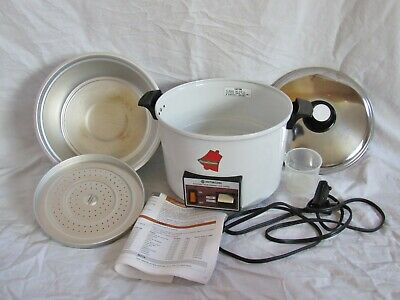 Hitachi Chime-O-Matic Automatic Rice Cooker Food Steamer 8.3 Cup Model RD-5083
