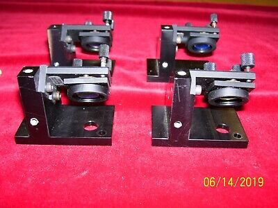 Four Mirror Mounts with Optics for red-NIR! Great condition! Micro Controle !