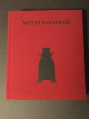 """The Babadook """"Mister Babadook"""" official Pop-up book, Standard edition"""
