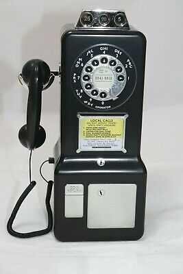 Churchill's Confectionery  Retro Phone with Biscuits Black  Best Before 30.09.19