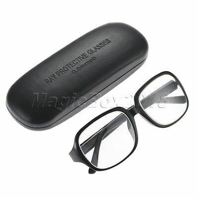 1 Pair X-Ray Protection Protective Lead Glasses 0.5mmpb Lead Spectacles with Box