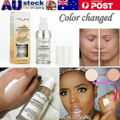 TLM Flawless Color Changing Foundation Makeup Base Face Liquid Cover U