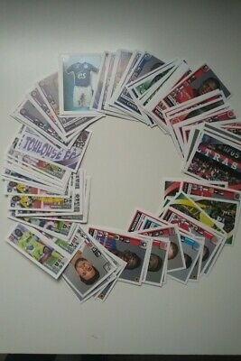 Lot 10 Stickers foot panini 2018-2019 parmi liste