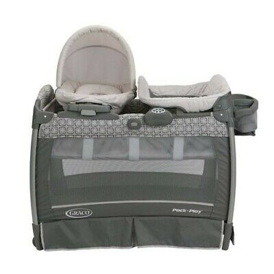 Graco Pack 'n Play Playard 3-in-1 with Changing Table and Vibrating Rocking Seat