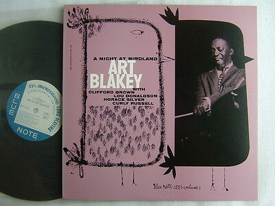 Art Blakey A Night At Birdland / Japan Blue Note Toshiba Mono