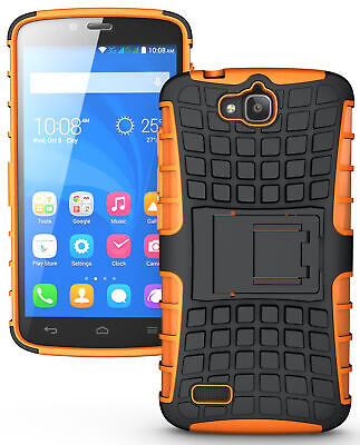 Neon Orange Grenade Grip Tpu Skin Hard Case Cover Stand For Huawei Honor Holly
