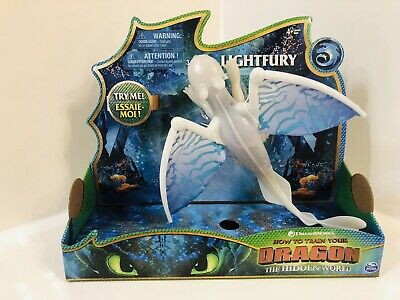 How To Train Your Dragon The Hidden World Deluxe Lightfury With Lights & Sound
