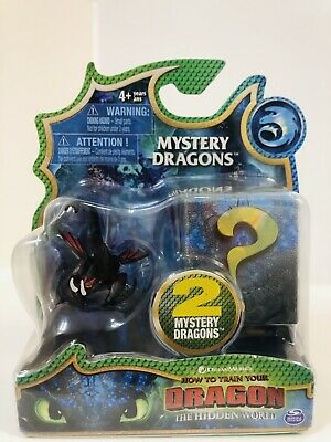 How To Train Your Dragon Hidden World Mystery Dragons Mini 2 Pack Deathgripper