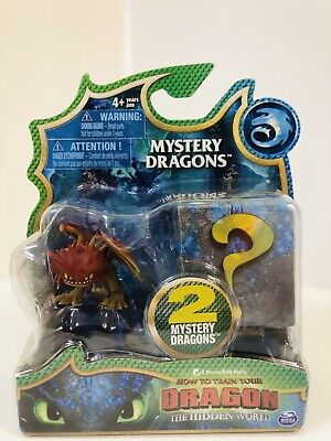 How To Train Your Dragon Hidden World Mystery Dragons Mini 2 Pack Cloudjumper