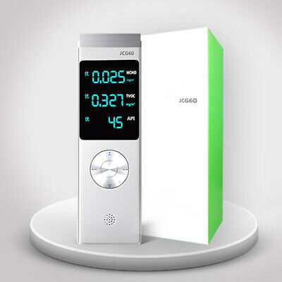 PM2.5 Air Quality Pollution Tester USB Monitor Formaldehyde Detector Meter Tool