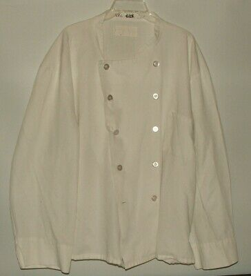 White Chefs Coat / Jacket Size 5XL Double Buttons