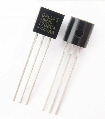 Original DS18B20 Digital Temperature Sensor Dallas Chip TO92 18B20 Arduino