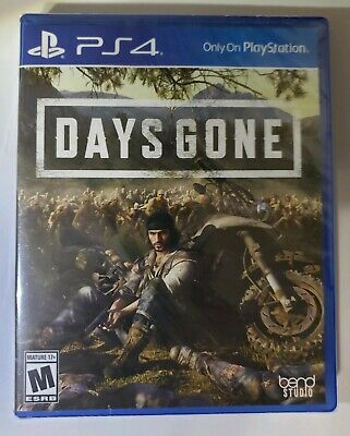 Days Gone (Playstation 4, 2019) PS4 Brand New Sealed Free Shipping DISC LOOSE