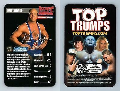 Kurt Angle - WWE Superstars 1 - 2005 Top Trumps Specials Card