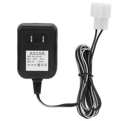 6V 500mA Wall Charger AC Adapter Battery Power For Kid Ride On Car Toy Durable