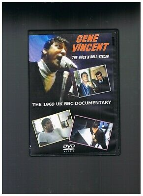 "Dvd  Gene Vincent "" The Rock'n'roll Singer "" Ttbe"