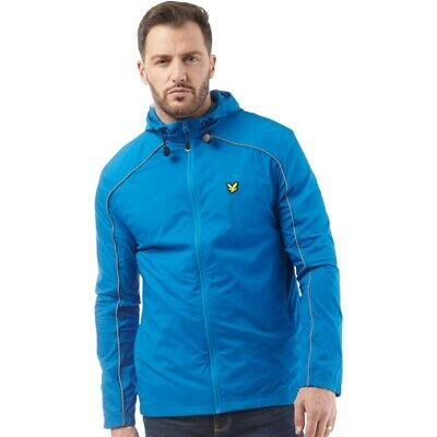 Lyle And Scott Fitness Mens Stewart Light Weight Hooded Jacket SIZE L C6053*