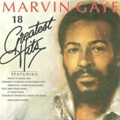 MARVIN GAYE 18 greatest hits (CD, compilation) Soul, Motown, very good condition