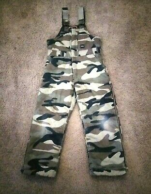 1db3bcea82d67 Walls Kids Kidz Grow System Camoflage Caro Coveralls Overalls Cold Large L