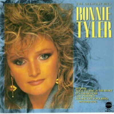 BONNIE TYLER the greatest hits (CD, compilation) pop rock, soft rock, very good,