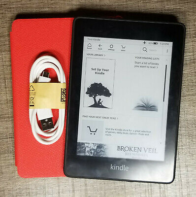 Amazon Kindle Paperwhite 4th (10th Generation) 8GB, Wi-Fi Black, ~Excellent~