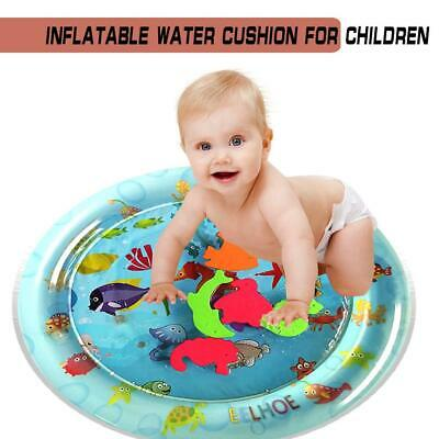 Baby Kids Water Play Mat Inflatable Thicken PVC Infant Gym Playmat Toys *DC