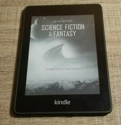 Amazon Kindle Paperwhite (10th Generation) 8GB Waterproof, 300ppi ~Blacklisted~