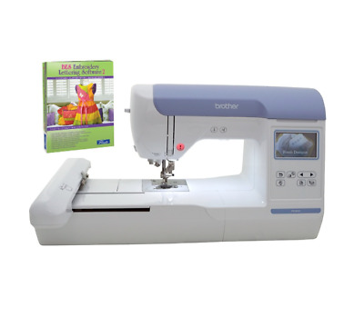 BROTHER PE800 PE 800 5X7 Embroidery Machine Plus BES2 Software Bundle