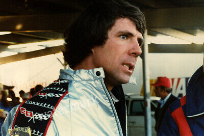Nascar Driver Darrell Waltrip 3 Time Cup Series Champion Angry Publicity Photo