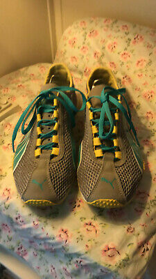 Ladies Teens Puma Sport Lifestyle Tennis Shoes Sz 8 Lightweight Free Ship