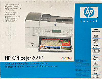 HP OFFICEJET 6210 ALL-IN-ONE 98 WINDOWS 7 DRIVERS DOWNLOAD