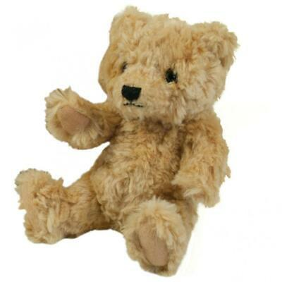 Mumbles Classic Jointed Teddy Bear / Accessories (S) (Mid Brown) S, Mid Brown