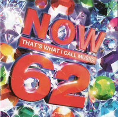 NOW THAT'S WHAT I CALL MUSIC VOLUME 62 various artists (2X CD compilation, 2005)