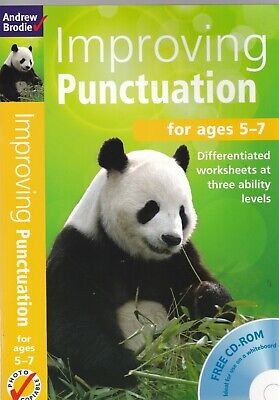 Improving Punctuation for Ages 5-7 Paperback English Learning Book