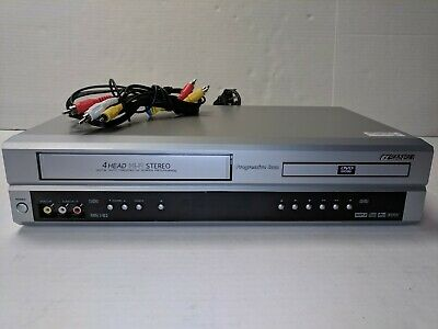 Sansui VRDVD4100 DVD VCR COMBO Player VHS Video Cassette Recorder TESTED GOOD!
